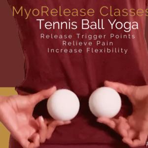 MyoRelease Tennis Ball Yoga